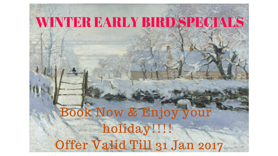Winter Early Bird Specials From