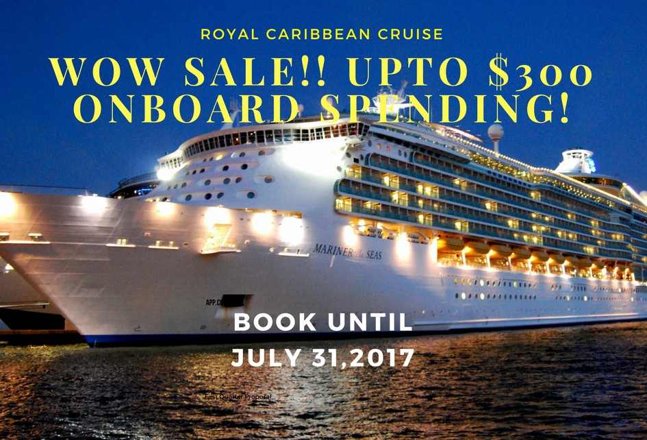 Exclusive upto #$600 off 2017 sailing & upto #$200 Onboard spending (2)