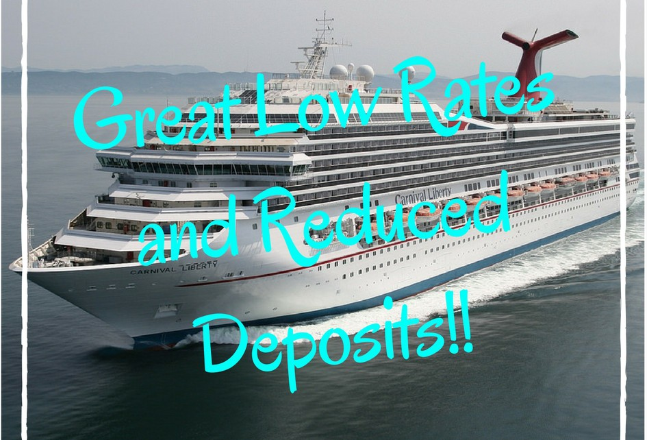 Great Low Rates and Reduced Deposits!!
