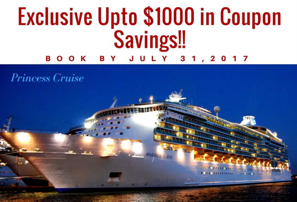 Save with Princess Cruises promo codes and coupons for December Today's top Princess Cruises offer: Sale. Find 5 Princess Cruises coupons and discounts at adalatblog.ml Tested and verified on December 04, %(1).