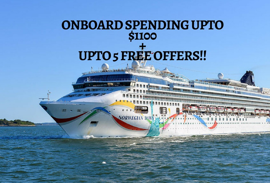Onboard spending upto $1100 + upto 5 Free Offers!!