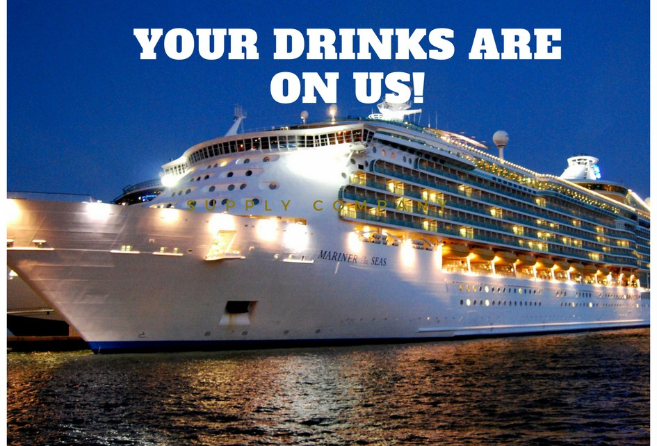 Your Drinks are on Us!