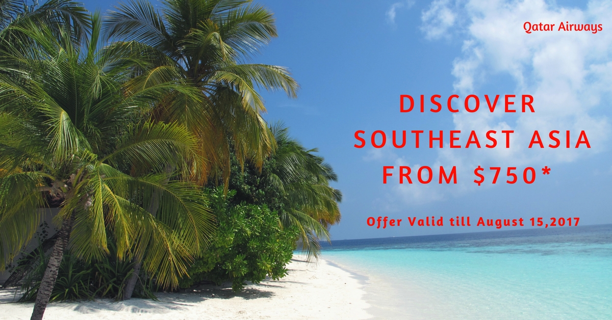 Discover Southeast Asia from $750-