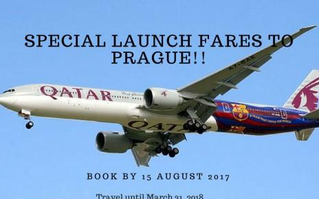 Special Launch Fares to Prague!!