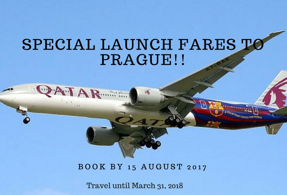 Special Launch Fares to Prague!!