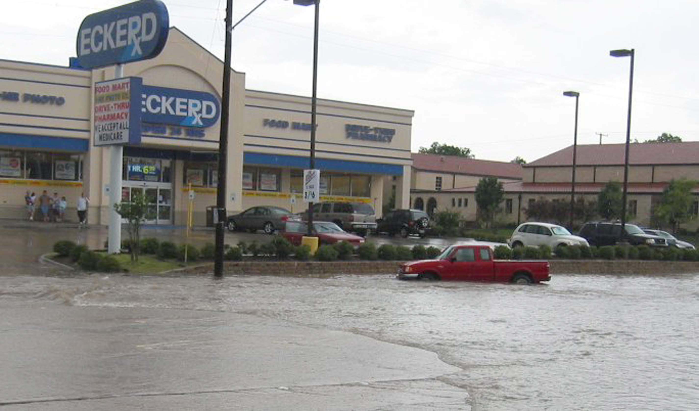 flooded houston