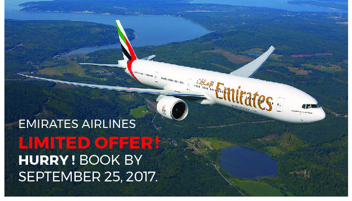 Emailer Emirates Airlines offer-01