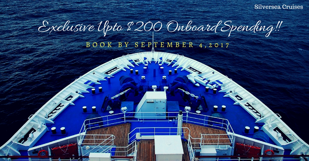 Exclusive Upto $200 Onboard Spending!!