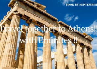 Travel together to Athens !! With Emirates !!