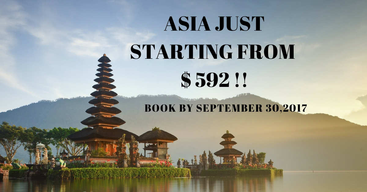 fares starting from $592 !!