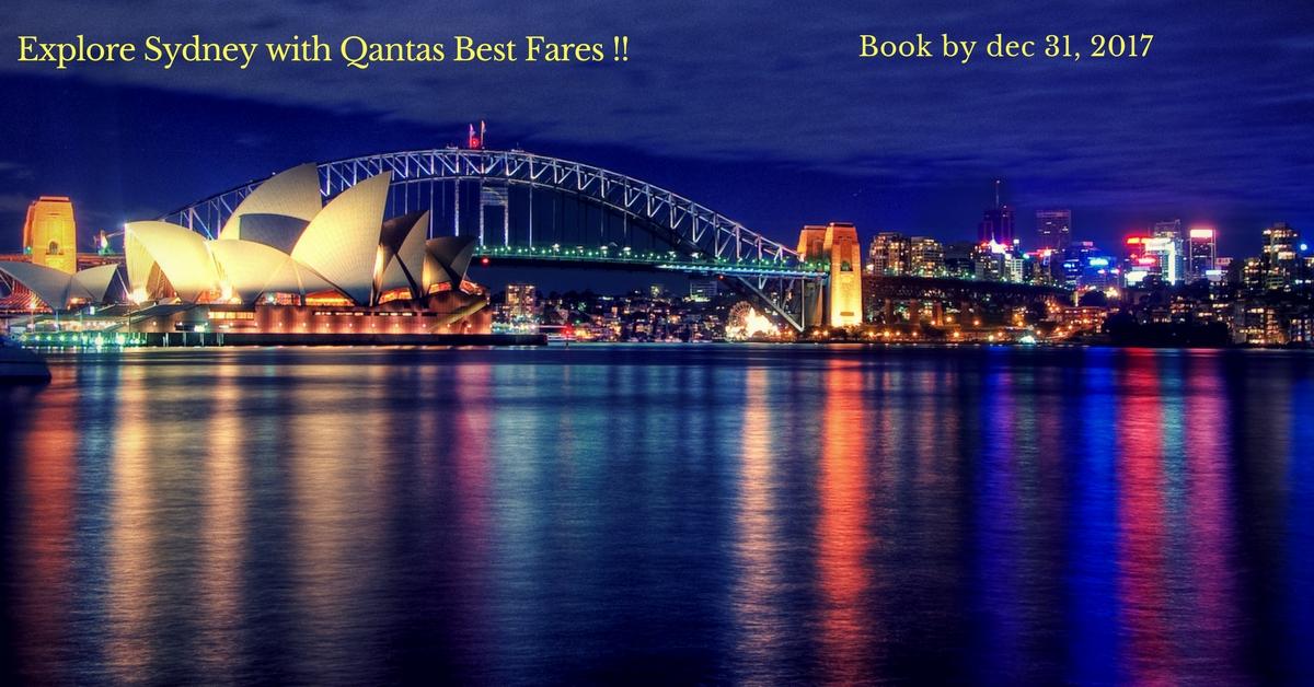 Explore Sydney with Qantas Best Fares !!