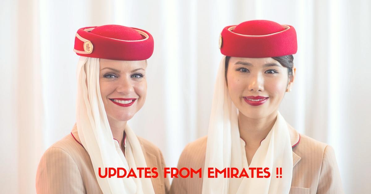 emirates updates