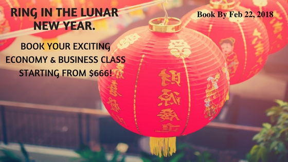 Welcome the lunar new year