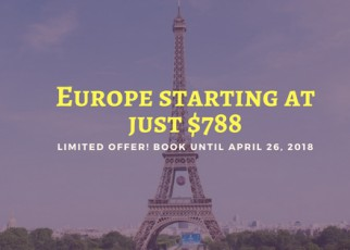 Europe at just $788