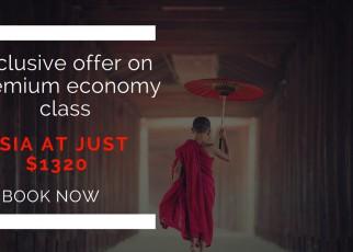 Cheap premium economy class fares