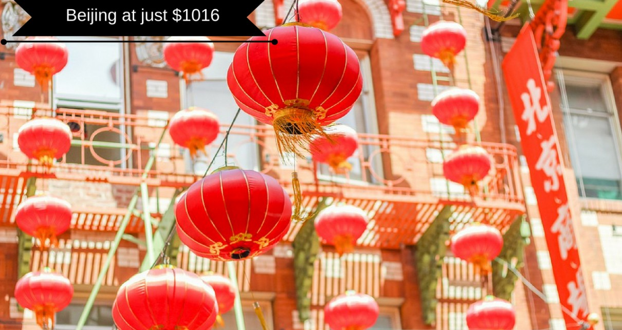Beijing atjust $1016