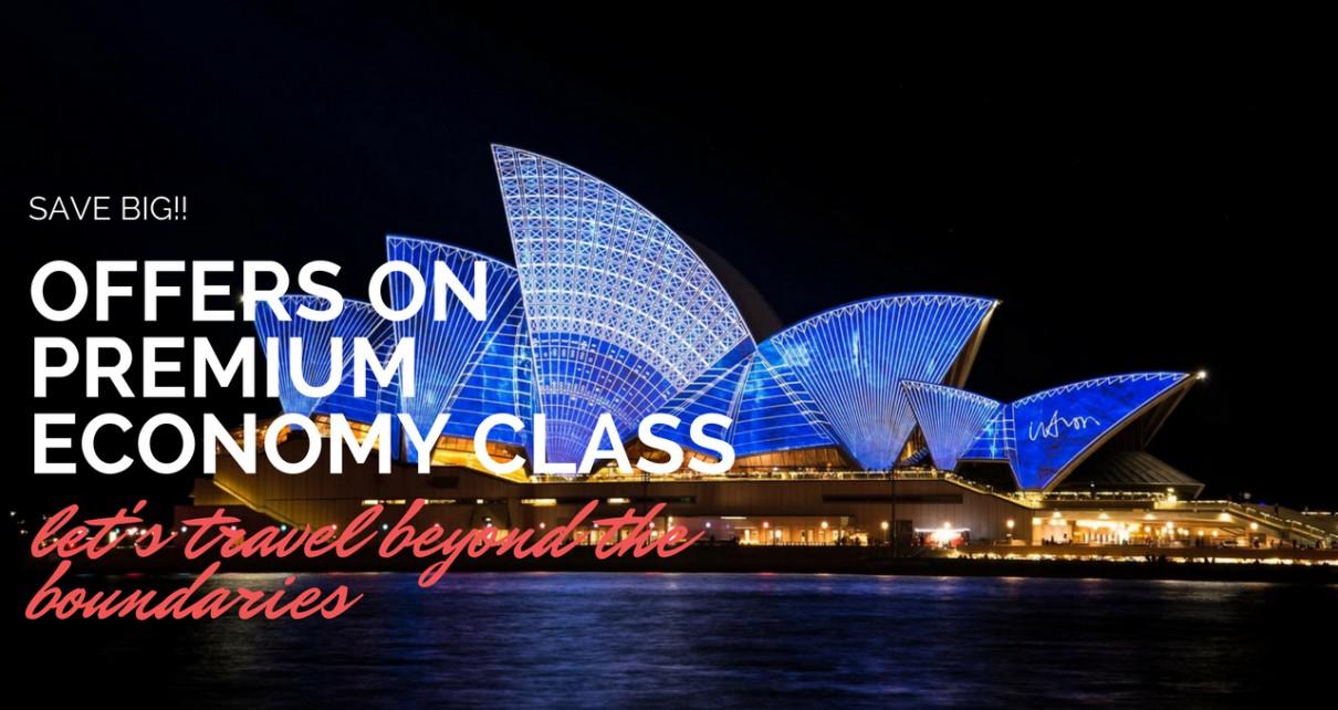 premium economy class fares offers