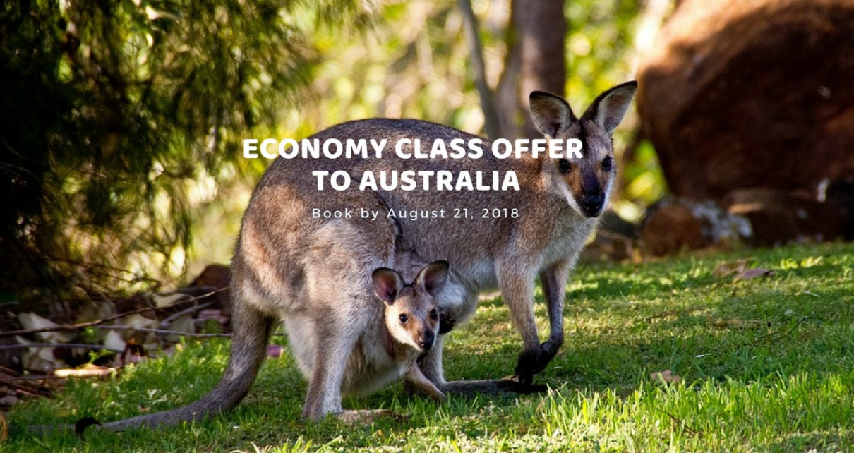 Economy Class offer to Aurstralia-min