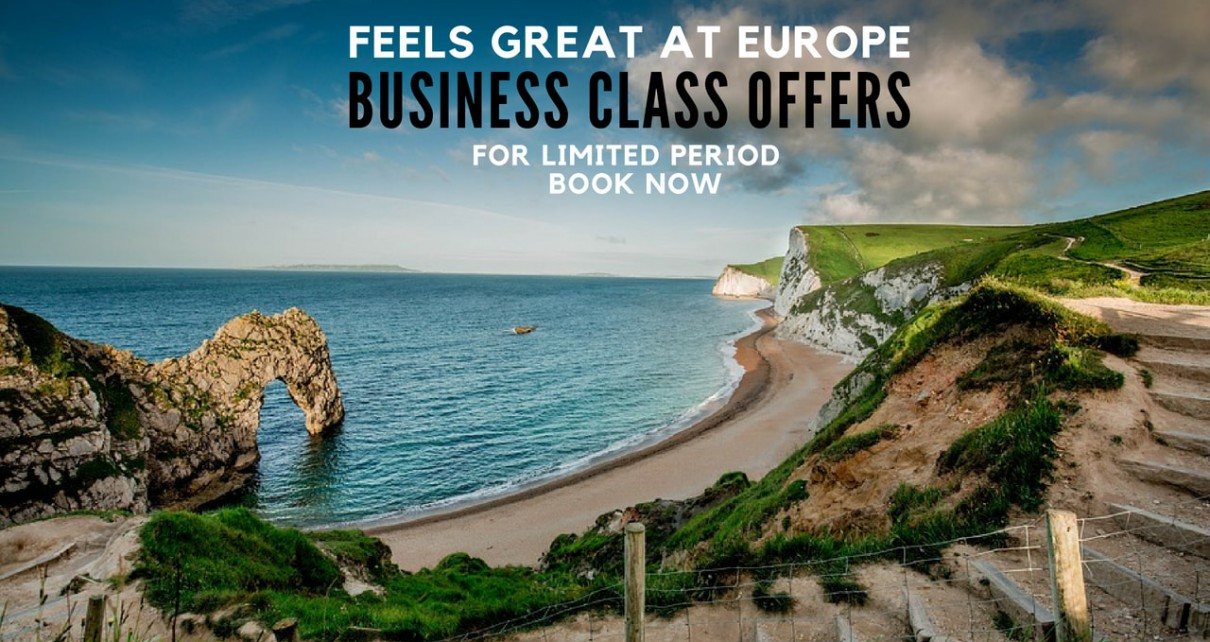 Business class offers