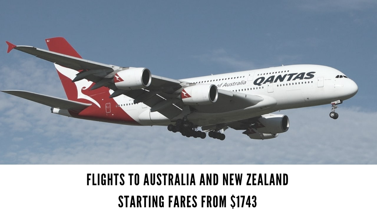 Premium Economy Class offers to Australia & New Zealand