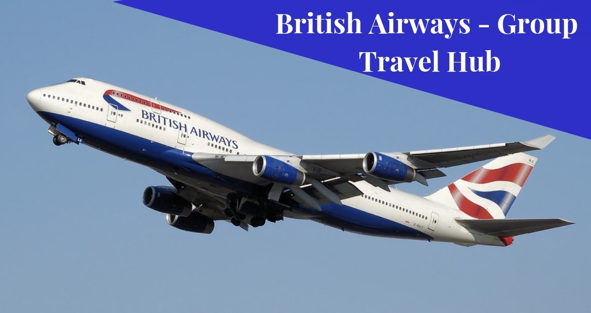 British Airline- Group Travel Hub