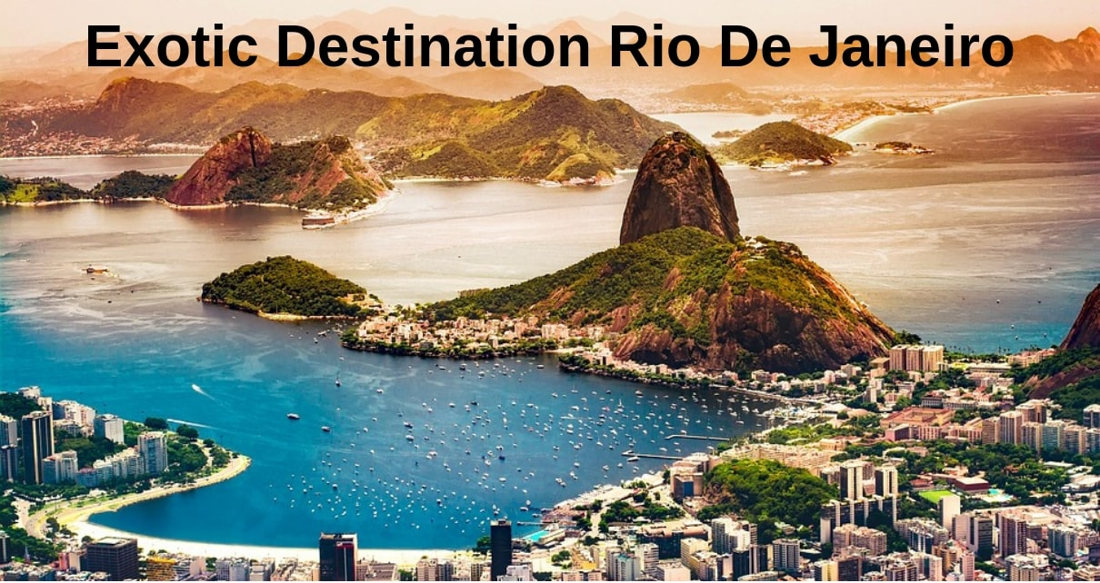 Natural Wonder at Rio De Janeiro