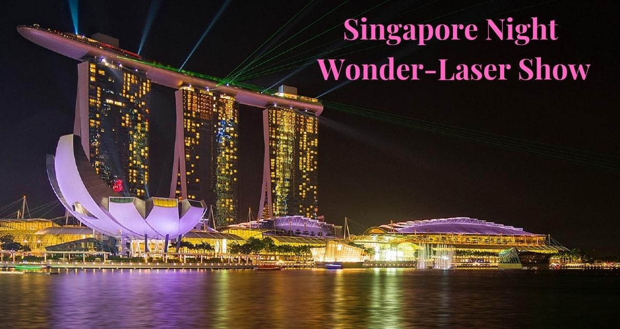 Singapore- Laser Show