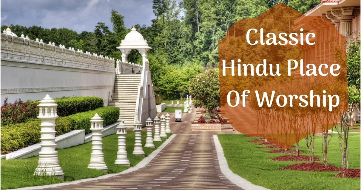 Classic Hindu Place Of Worship