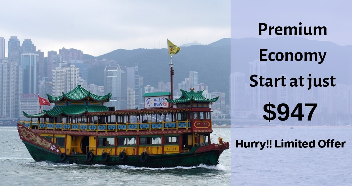 Premium Economy Start at just $947 Hurry!! Limited Offer