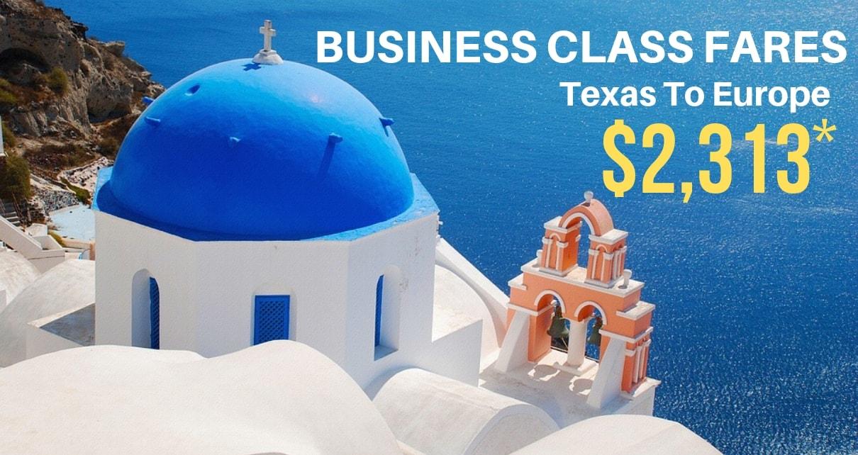 Business Class Airfares (2)