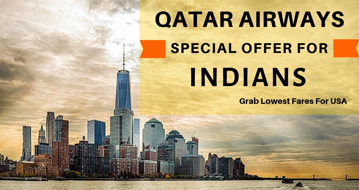 Cheap Flights To USA- Qatar Airways