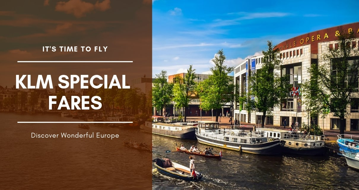 KLM- Cheap Flights To Europe