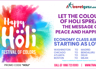 Holi Special Flight Offer