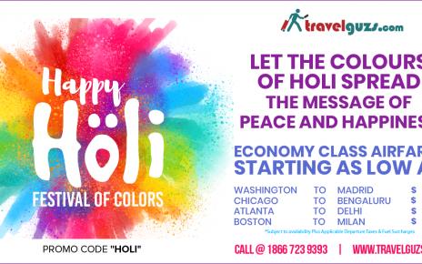 Holi Special Flight Offer