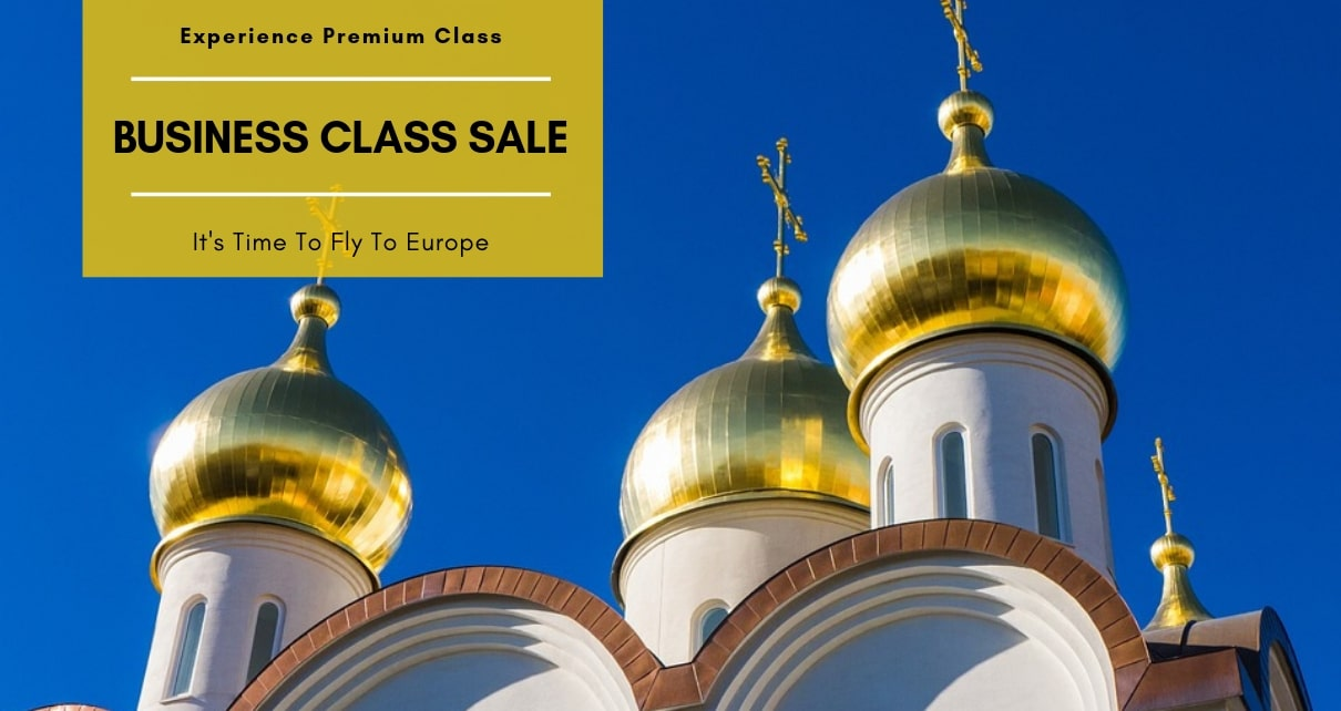 Cheap business class fares to Europe