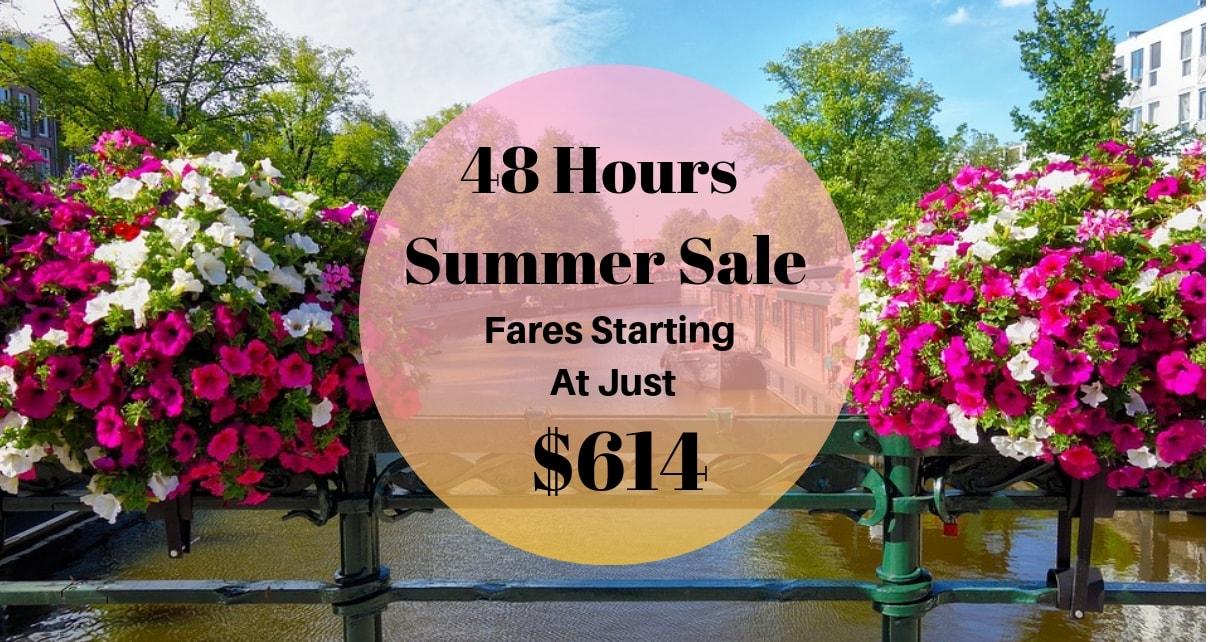 Flight Offer For Summer Travel