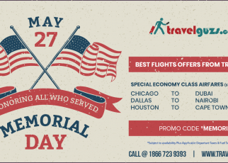 Memorial Day Weekend- Cheap Flight Tickets