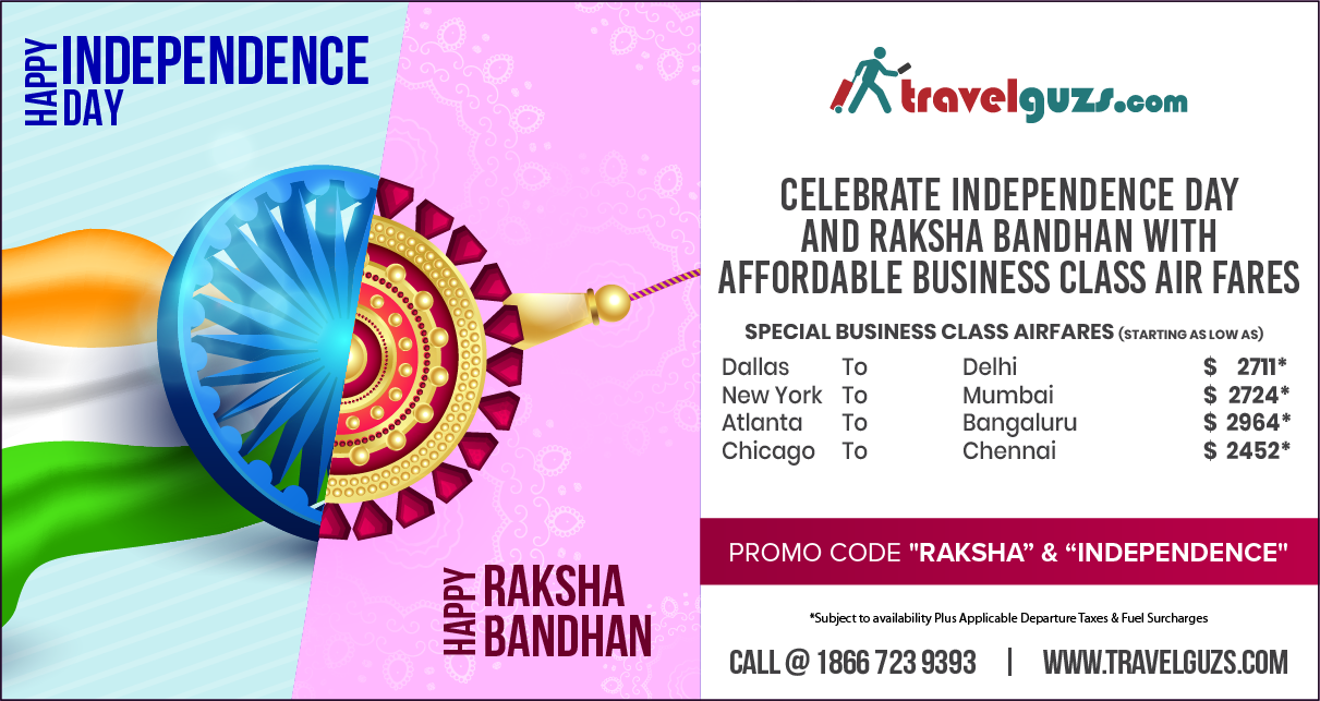 Perfect Getaways To Celebrate Independence Day & Raksha Bandhan