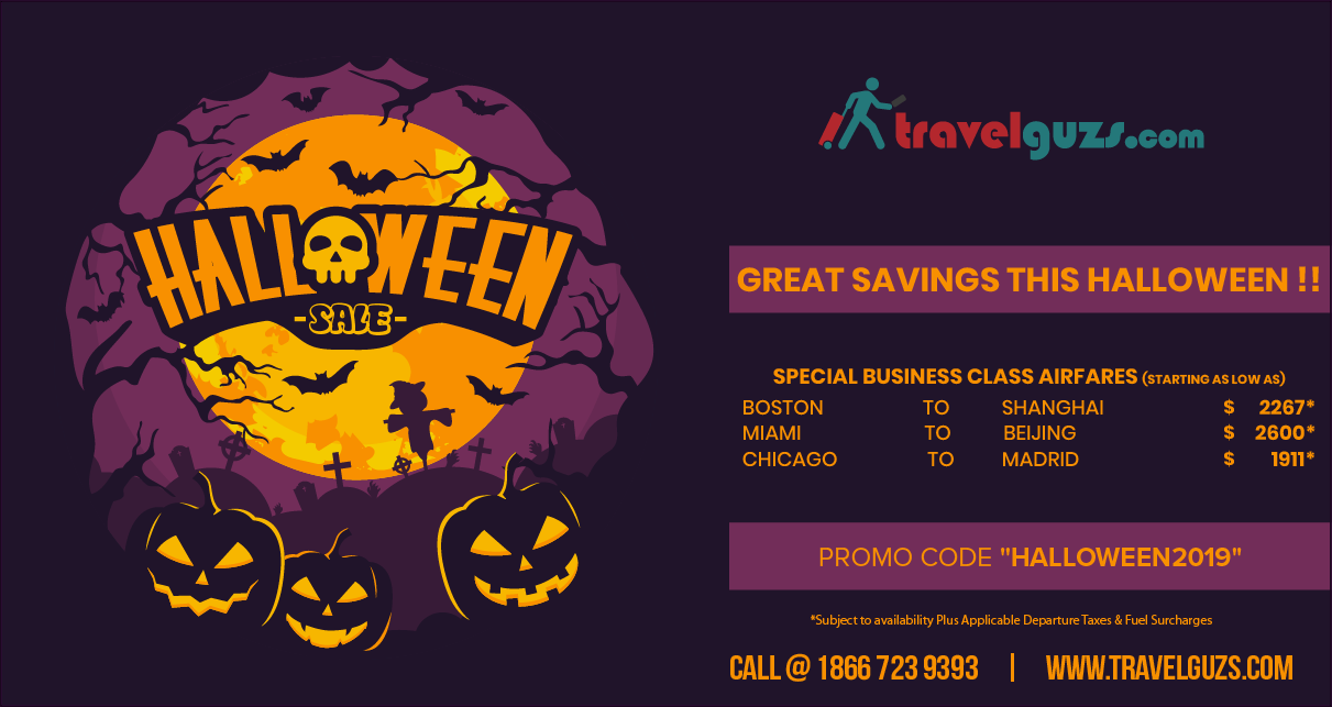 Halloween Vacations- Best Places to go for Halloween Celebration