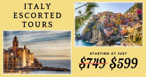 Italy Escorted Tours