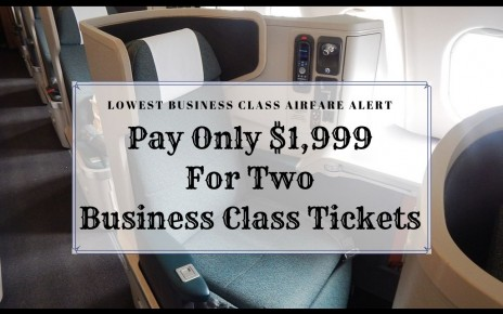 Business Class Companion Tickets