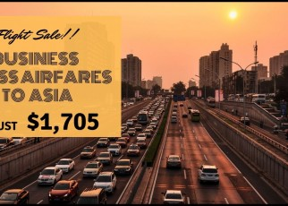 Business Class Airfares To Asia