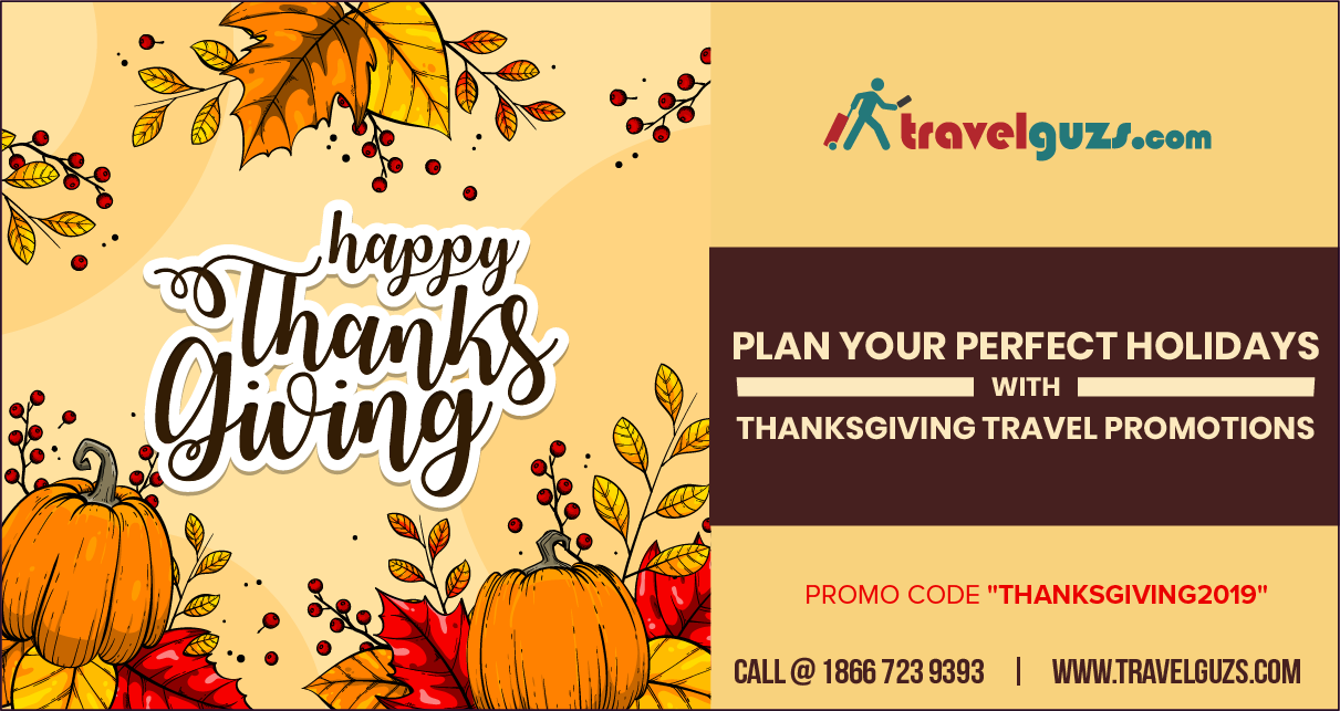 Book Your Thanksgiving Flights & Surprise Your Beloved