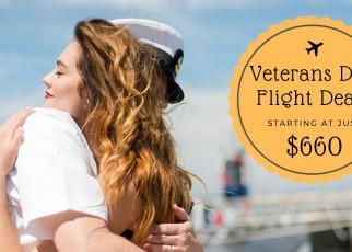 Veterans Day Flight Deals