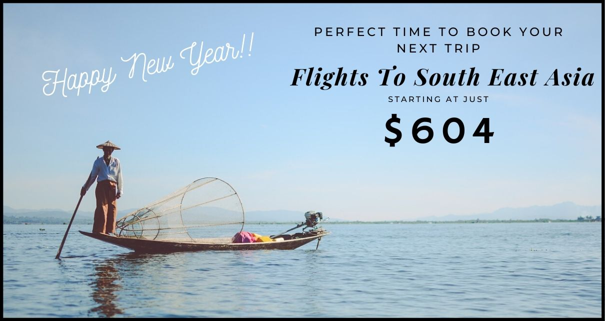 Exclusive Sale On Flights To Asia & Africa This Festive Season