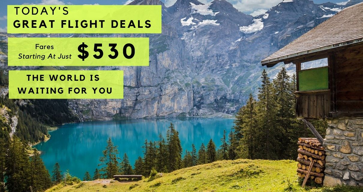 Pocket Saving Airfare Deal For Your Next Trip