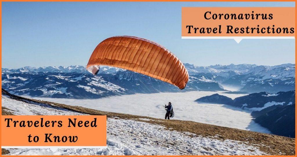 Coronoavirus Travel Restrictions
