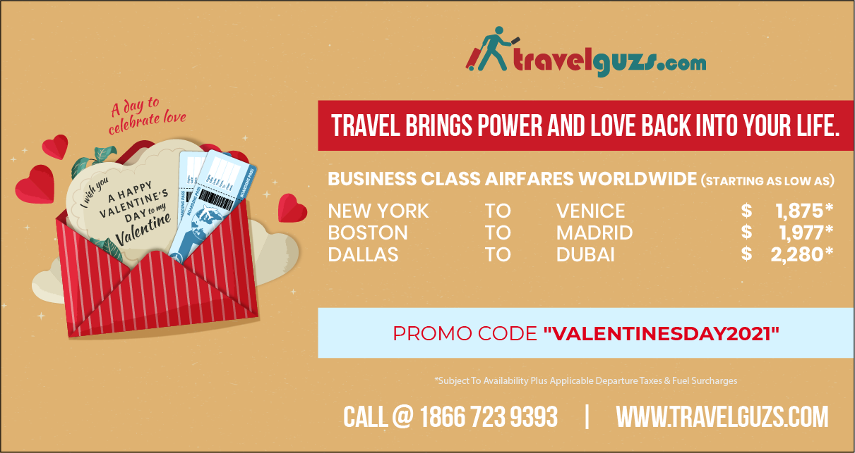 Valentine's Day Gift Travel Ideas