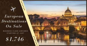 Business Class Airfares To Europe