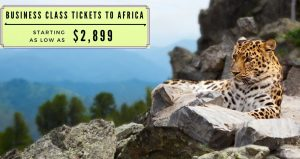 Business Class Airlines Tickets To Africa